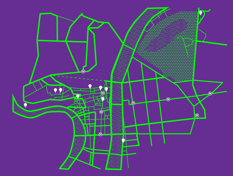 Mirage Festival - Map